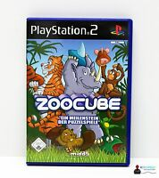Playstation PS2 Spiel - ZOOCUBE - Komplett in Hülle OVP