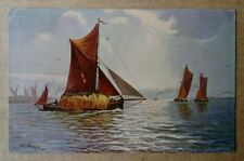 Postcard 1905 Boats,Sea,by S.Hildesheimer Posted Truro-Helston
