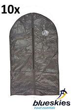 2-12 X Set of BLK PEVA Garment Suit Covers Clothes Bag Travel Business 2