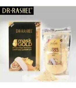 DR.RASHEL 24k Gold Collagen Face Mask Powder Anti Wrinkle Anti Aging Skin