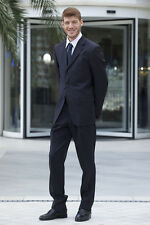 Pantalone Pantaloni Lavoro Reception Cameriere Elegante Abbigliamento Abiti