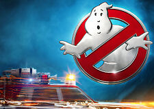 Ghostbusters Movie Logo Car A4 260GSM Poster Print