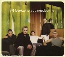 BOYZONE - YOU NEEDED ME (3 track CD single)