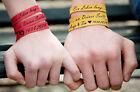 Cinturino in pelle con incisione Bracciale a spirale braccialetto in vera pelle