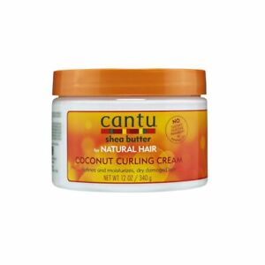 Cantu Shea Butter for Natural Hair Coconut Curling Cream 12oz - Australia Stock