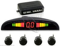 Parking Sensor - Reversing - Parktronic - Pdc - Display & Tone - 4x