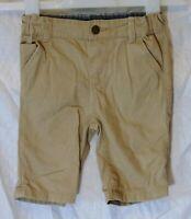 Boys Primark Light Brown Denim Adjustable Waist Long Board Shorts Age 2-3 Years