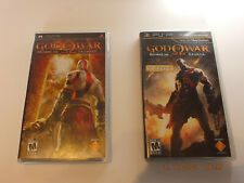 God of War: Chains of Olympus & Ghost of Sparta PSP BUNDLE - COMPLETE - US