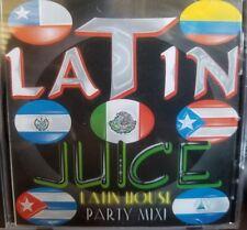 Latin House CD dj Mix Of Latino House Music Latin Juice