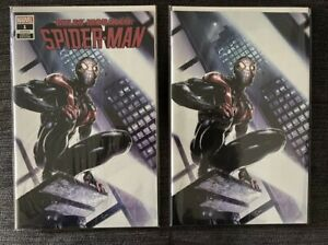 Miles Morales Spider-Man # 1 Clayton Crain Variant SET NM
