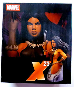 X-23  Laura Kinney Wolverine Clone Bust Statue Logan Marvel Comics Art Asylum