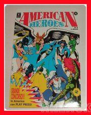 AMERICAN HEROES 6 Play Press 1992 New Teen Titans