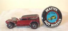 """HOT WHEELS RED LINER """" THE DEMON """" 1969 WITH METAL BADGE"""