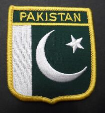 PAKISTAN FLAG EMBROIDERED PATCH INTERNATIONAL COUNTRY 2.5 X 3 INCHES