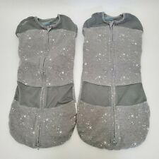 Happiest Baby Sleepea 5-Second Baby Swaddle Lot of 2 Sz Med 2-4 Months 12-18 lbs