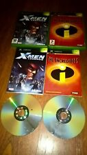 The Incredibles & X-MEN LEGENDS Jeux XBOX Bundle
