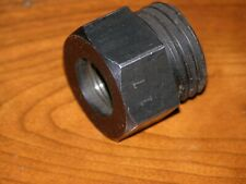 Wood Lathe Spindle Adapter, Chuck Adapter.  ¾-16 Female Tread; M33 x 3.5 Male Th