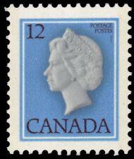 """CANADA 713 - Queen Elizabeth II """"Cameo"""" DF/DF Paper (pf87570)"""