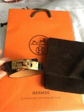 115c072e2e NEW RARE HERMES KELLY Double Tour BLACK CROCO  ROSE GOLD Hardware Size S Cdc