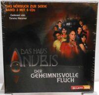 Das Haus Anubis + Der geheimnisvolle Fluch + Hörbuch auf 6 CDs + Kinder Serie +