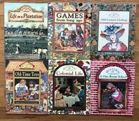 Lot 6 Children's History Picture books HISTORIC COMMUNITIES 1 Room School Games