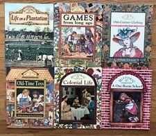 Lot 6 Children's History Picture books HISTORIC COMMUNITIES 1 Room School Games