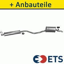 FIAT PUNTO 1.2 58/60PS 1993-2001 Auspuff Ab Katalysator+