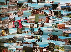 Lotto di 800 cartoline paesaggistiche italiane a colori