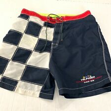 Vintage Tommy Hilfiger Sailing Gear Swimsuit Swim Shorts Trunks XL Spell Out