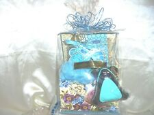 Gift Basket In Aqua/Any Occasion
