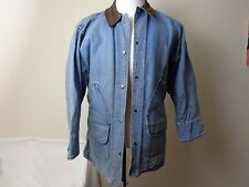 Vintage WOOLRICH Women's Cotton Denim Jean Jacket Size Medium