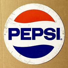 Pepsi Cola Pepsi - Tin Metal Wall Sign