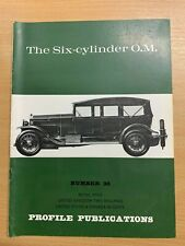 PROFILE PUBLICATIONS CARS #38 THE SIX-CYLINDER O.M.