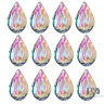10 pcs AB Coating 38MM Crystal Prisms Suncatcher Feng shui Ornament Pendant Drop
