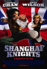 SHANGHAI KNIGHTS Movie POSTER 27x40 Jackie Chan Owen Wilson Donnie Yen Aidan