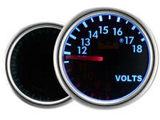MotorMeter Zusatzinstrument Zusatzanzeige SMOKE Volt Spannung LED Display Blau