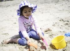 Baby Girls Boys Kids Outdoor Upf 50+ Protection Bucket Hat Summer Beach Sun Cap