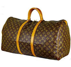 Louis Vuitton Keepall 55 Reisetasche Monogram Camvas Handgepäck Guter Zustand