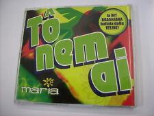 MARIA - TO NEM AI - CD SINGLE EXCELLENT CONDITION 2004