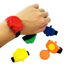Toy Watch Launcher Flying Disc Shooting Watch Bracelet Toys Kid Party Favors