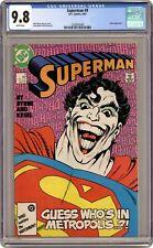 Superman #9 CGC 9.8 1987 1620042040