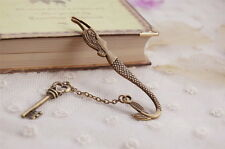High Quality Mermaid Bookmark Charm Pendant Stationery Key Book Holder Gift