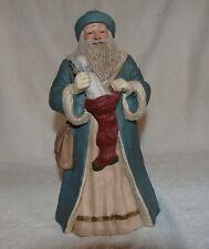 "Miss Martha Originals Father Christmas White Santa Le 1268/1500 1989 11"" Rare"