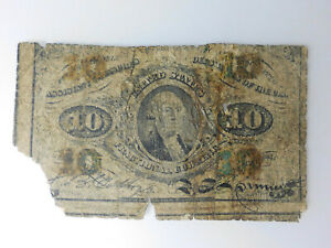 Ten Cent Fractional Currency, Third Issue