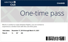 2 United Club One Time Pass
