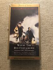 WHERE THE RED FERN GROWS PART TWO VHS BRAND NEW FACTORY SEALED NEVER PLAYED !!!