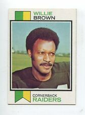 1973 Topps #210 Willie Brown Oakland Raiders