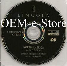4D Update 2003 2004 2005 2006 Lincoln Navigator Aviator LS Navigation DVD Map