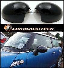 BLACK Mirror Cap Cover for MINI Countryman Paceman R60 R61 w/Manual Fold Mirrors