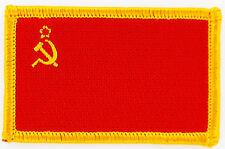 AUFNÄHER Patch FLAGGEN flagge UDSSR SOWJETUNION  russland flag Fahne  7x4.5cm